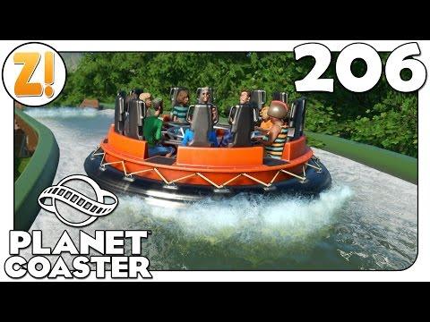 Planet Coaster: Die Strecke bekommt ein Theming #206   Let's Play [DEUTSCH]