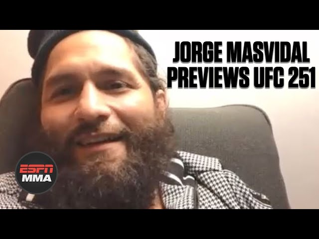Jorge Masvidal talks Kamaru Usman, negotiating to fight at UFC 251 | ESPN MMA - ESPN MMA