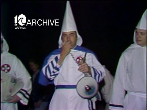 WAVY Archive: 1979 Wilkinson Klan Rally and Anti-Klan Rally
