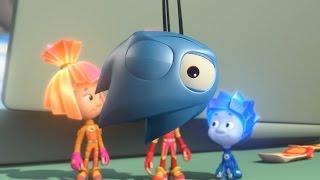 Фиксики - Аэрозоль | Познавательные мультики для детей