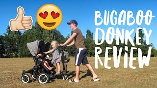 BUGABOO DONKEY PRAM REVIEW/ FAMILY VLOG/ DOUBLE PUSHCHAIR REVIEW