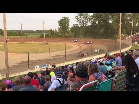 Crystal Motor Speedway Late Model Heat Races 7/3/2018