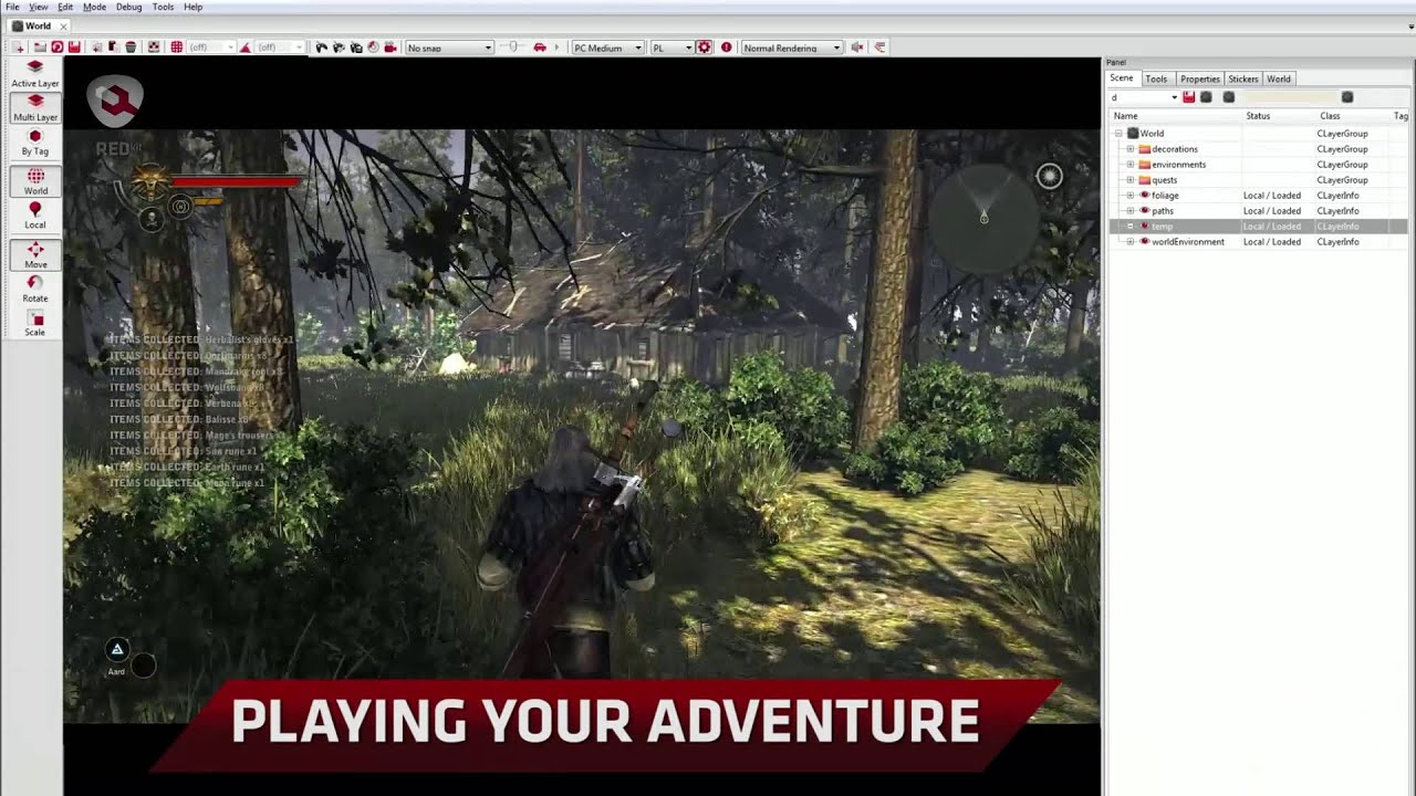 REDkit timelapse - creating an adventure in The Witcher 2's engine
