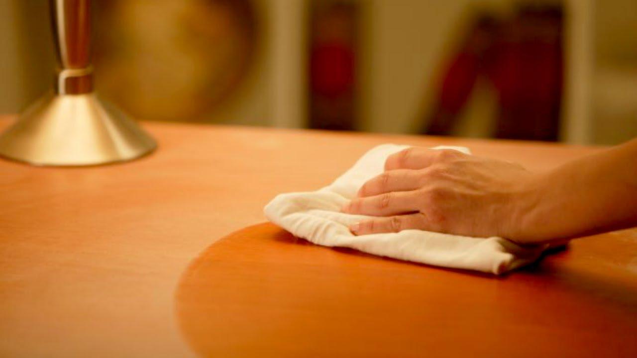 Aprende a hacer un limpiador casero para las muebles - YouTube