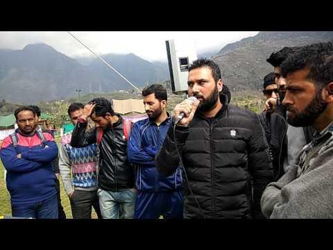 Kashmiri song in Tulip Garden Srinagar