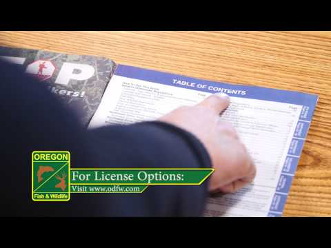 Segment 2: Licenses And Regulations – How To Fish For Trout In Oregon