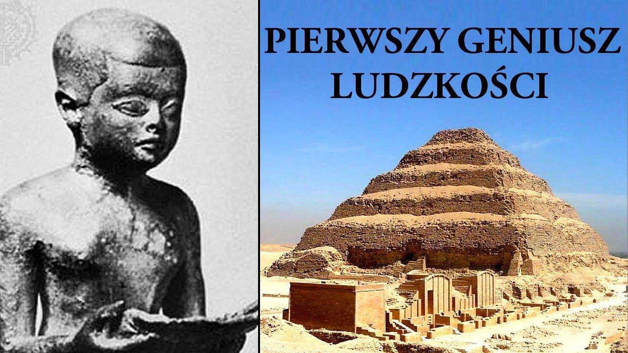 Kim był tajemniczy Imhotep?