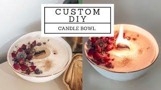 DIY magical candle bowl