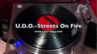 U.D.O. - Streets On Fire (Vinyl LP)