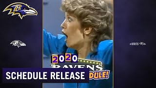 Baltimore Ravens 2020 Schedule Release
