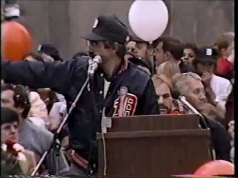 WDIV Detroit: October 16, 1984: Detroit Tigers Parade