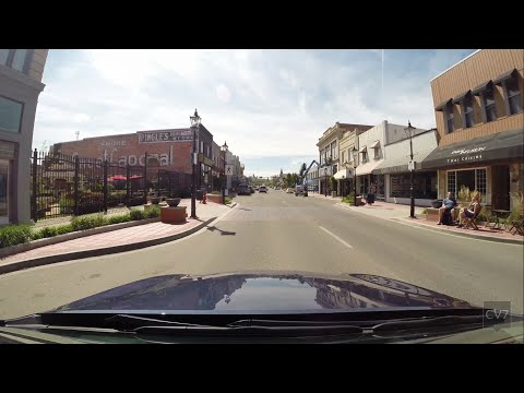 Exploring Downtown Medicine Hat, AB (Time Lapse)