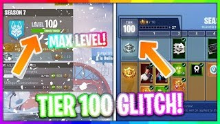 Fortnite xp glitch!!! Season 7 xp glitch *Working!!! * (tier 100 fast!!) PC/Console