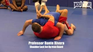 Dante Rivera • Shoulder Lock from Guard at South Jersey Brazilian Jiu-Jitsu • Nogi Bear™ MMA BJJ