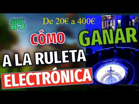 🆕 Ruleta electronica en el salon de juegos Codere 20€ a 400€