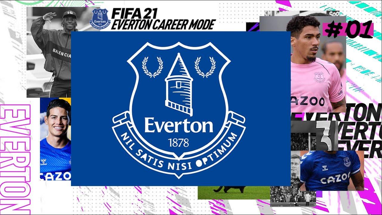 *NEW FULL GAME SERIES* WHO DO I BUY?! FIFA 21 | Everton Career Mode Ep1