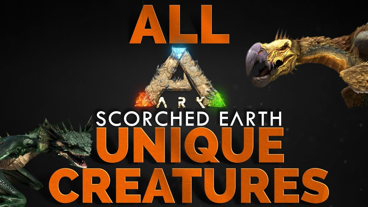 ARK Scorched Earth Unique Creatures SPAWN Commands | PC, Xbox One