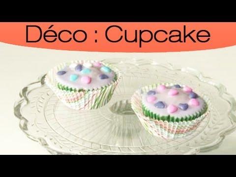 Recette Et Decoration De Cupcakes Glacage Royal Special Fete Youtube