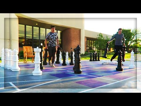 GIANT CHESS CHALLENGE!