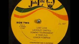 Lacksley Castell Lost Love Junior Pumpkin Domino Tounament