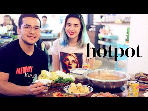 [CANTO] BEST HOT POT WITH MY LOVELY BROTHER in Hong Kong
