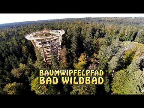 Baumwipfelpfad Bad Wildbad/Schwarzwald /Tree Top Walk Black Forest
