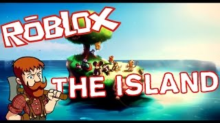 ALONE ON AN ISLAND!! ROBLOX English! [The Island]