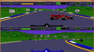 Mario Andretti Racing. Этап 2. JAMLIGHT (Space Team) vs Memori New (Pixel Fighters)