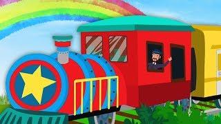 Gadi Aayi Gaadi Aayi | गाड़ी आयी जुक जुक | Balgeet | Kids Rhymes | Cartoon Videos for Children