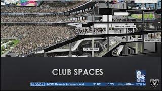 Raiders Stadium construction ahead of schedule, 16% complete