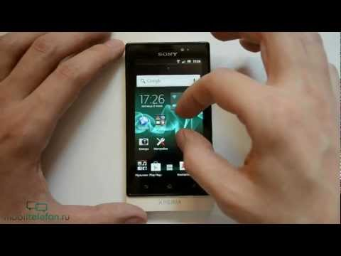 Обзор Sony Xperia Sola (review)