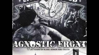 Watch Agnostic Front Dedication video
