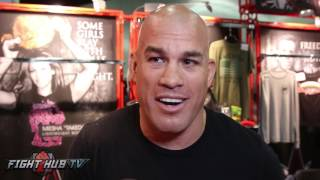 Tito Ortiz feels Canelo Alvarez will knockout Gennady Golovkin in the 8 round if they fight