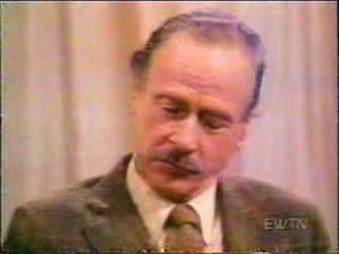 Fr. Patrick Peyton Interviews Marshall McLuhan, part 1