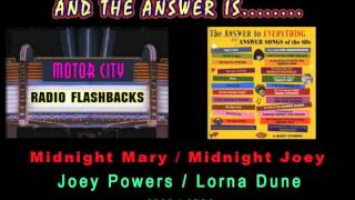 Joey Powers - Midnight Mary - Lorna Dune - Midnight Joey - 1963 - 1964