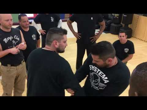Systema Twins Self Defense Knife Seminar in Cranston Rhode Island - DAY 2