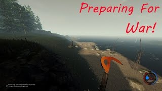 Preparing For War! The Forest: Episode 3