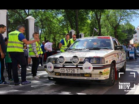 VÍDEO: Estuvimos en la Clásica de Automovilismo de Lucena, prueba final del calendario regional