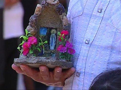Alta Gracia: miles de peregrinos visitan la Virgen de Lourdes