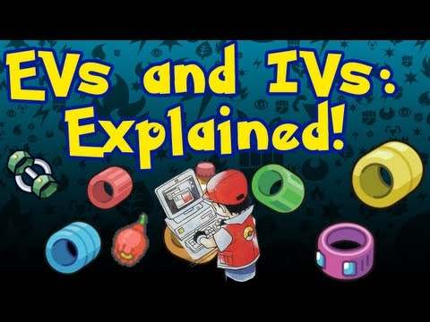 Pokémon EVs And IVs Explained! - Pokémon Fact Of The Day