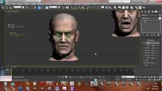 Using sliders/wire parameters in 3ds Max to control morph targets on a character part 2