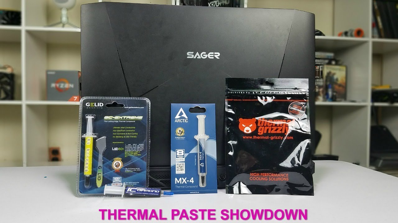 Does The Thermal Paste Matter In a Laptop ? 4 Paste Showdown !