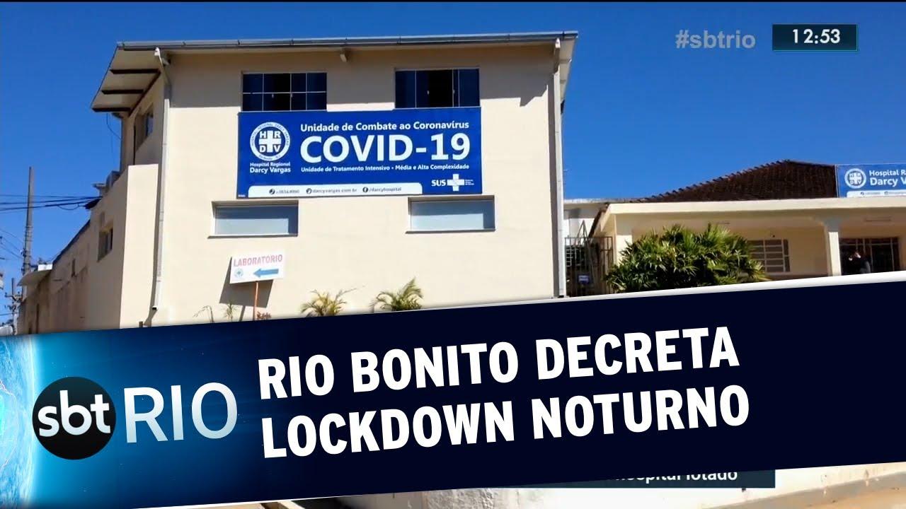 Rio Bonito decreta lockdown noturno
