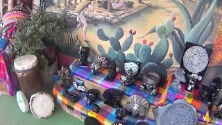 Artesanías pirámides Teotihuacán no comprar plata la virgen que me venden no era de plata me timaron