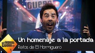 La divertida versión de la portada de la obra de Pablo Chiapella - El Hormiguero 3.0