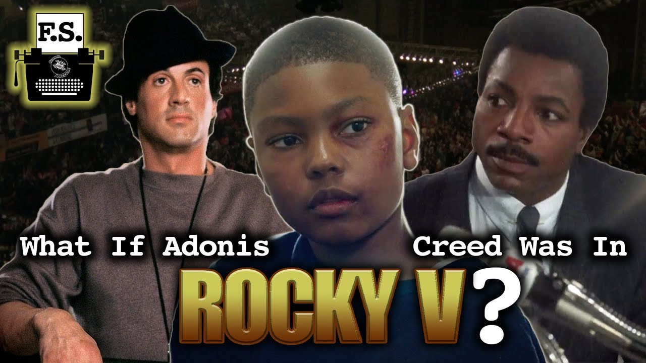 What If Adonis Creed Was In Rocky V? - FanScription