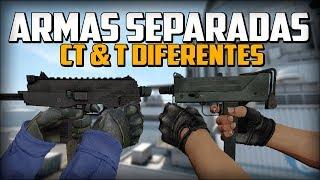 ARMAS DIFERENTES PARA CADA BANDO | TENER LAS ARMAS DE LOS CT & TT  SEPARADAS