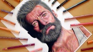 Speed Drawing: Logan