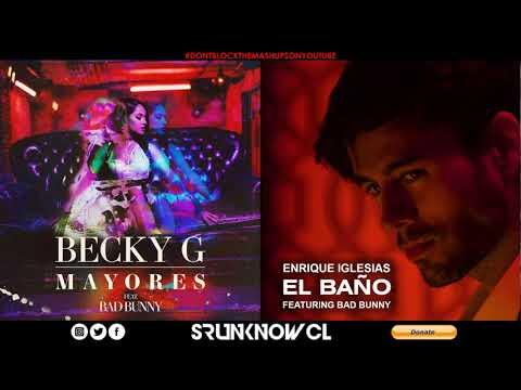 Becky G, Enrique Iglesias & Bad Bunny - Mayores / El Baño (Mashup Concept)