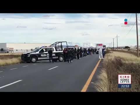 Asesinan a cinco policías en Fresnillo | Noticias con Ciro Gómez Leyva